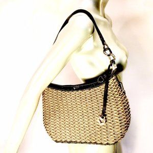 Brighton Woven Basket Shoulder Bag